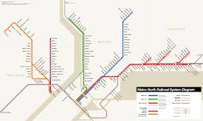 Amtrak Map Schedule by Metro North Railroad U2014 Map Lines Route Hours Tickets