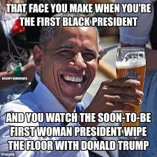 Obama Face Meme - funniest presidential debate memes