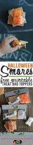 halloween smores free treat bag toppers halloween party snacks