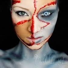 Fx Halloween Costumes 7 3d 2d Cuts Images Halloween Makeup Fx