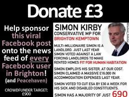 Simon Meme - anti simon kirby meme to every facebook user in brighton