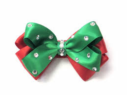 hair bow pink bowtique pinkbowtique christmas hair bows