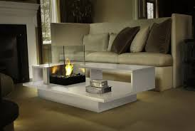 Indoor Fire Pit Coffee Table Electric Fireplace Coffee Table Home Design Ideas