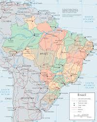 Map Of Brazil South America by Brazil Map Brazil Political Map Brazil Travel Map