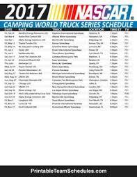 2017 monster energy nascar cup series schedule nascar racing