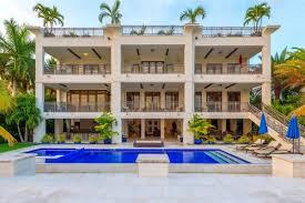 modern mansion modern mansion on palm island asks 22m curbed miami