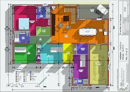 faire un plan de chambre en ligne plan maison plain pied 3 chambres 110m2 luxe mod les et plans de