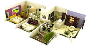 small home plans free mesmerizing 3d home plan sq ft plans free new at interior