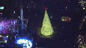 christmas lights san francisco san francisco tree lighting ceremony kicks off holiday season
