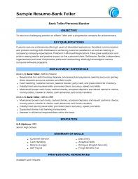 skills on resume for banking resume template example