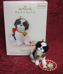 108 best hallmark ornaments images on puppy