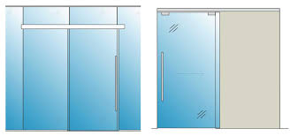 sliding glass door self closing glass office doors avanti systems usa