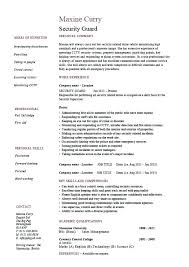 awesome security resume cover letter contemporary podhelp info