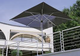 Windproof Patio Umbrella Commercial Patio Umbrella Aluminum Fabric Wind Resistant