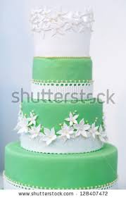 green wedding cake stock images royalty free images u0026 vectors