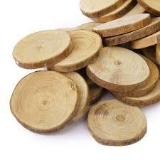 wood centerpieces 30pcs 4 5cm wood log slices discs diy crafts wedding centerpieces