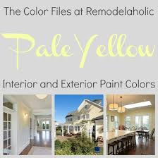 remodelaholic best colors for your home pale yellow