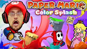 paper mario color splash smash should we play again or no way