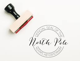 official letters from santa official seal of the pole st santa st christmas st