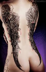 wing tattoos for possible future inspiration
