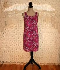 90s casual corner black floral rayon sleeveless maxi dress size