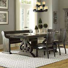 Dining Room Table With Chairs And Bench Turnin Table 2 Chairs Bench Walker U0027s Furniture Table