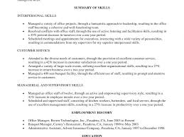 download military to civilian resume examples