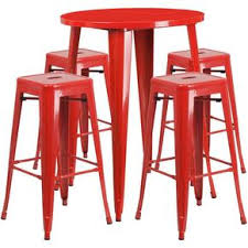 Outdoor Bar Table And Stools Frozen Yogurt Shop Furniture At Contemporary Furniture Warehouse