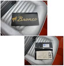 Ford Explorer Manual - bronco owners manual wallet 66 73 broncograveyard com