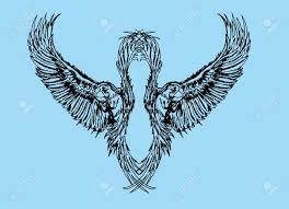 bird tribal by dirtfinger deviantart com on deviantart best 25