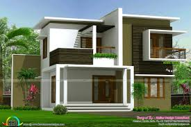 contemporary box model home architecture kerala home design and