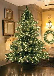 9 pre lit middleton layered artificial tree clear