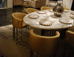 italian dining room sets tilmun luxury italian dining table shown with a marble calacatta