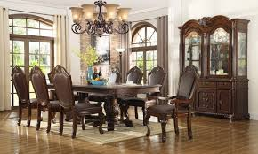 formal dining room set chateau traditional formal dining room furniture set free shipping