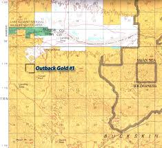 Lake Havasu Map Outback Gold Claim