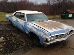Picture Of Chevy Impala Supernatural 1967 Chevrolet Impala 327 4 Door Hardtop Classic