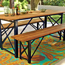 World Market Patio Furniture Peacoat Beer Garden Dining Table World Market