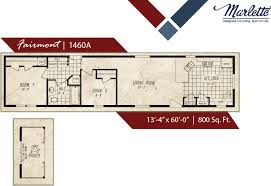Floor Plans For Mobile Homes Single Wide Columbia Manufactured Homes Marlette Manufactured Homes