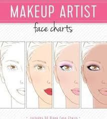 makeup artist book makeup artist charts m reyna 9781522744504
