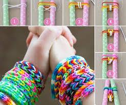 diy bracelet rubber bands images Simple diy rubber band bracelets no loom required jpg