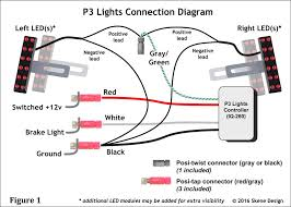 3 wire light wiring diagram diagram wiring diagrams for diy car