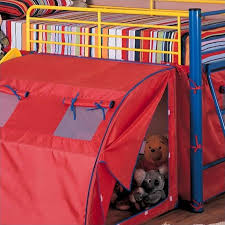 Bunk Bed With Slide And Tent Coaster Metal Loft Bunk Bed With Slide And Tent 7239