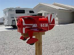 themed mailbox bi plane mailbox arizona s best aviation themed