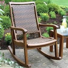 Patio Rocking Chairs Wood Outdoor Wooden Rocking Chairs Wooden Rocking Chairs Outdoor