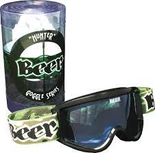 beer motocross goggles beer optics