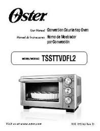 Oster Toaster Oven Manual Oster Designed For Life Convection Toaster Oven Walmart Com