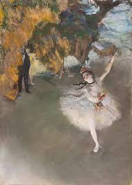 Barevnãƒâ Sova Vosk Pastely A Vod Barvy M Edgar Degas Baletka Na Jevišti Impresionismus Lidé Obrazy