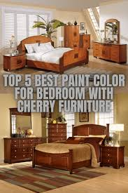 what paint color goes best with cherry wood cabinets top 5 best paint color for bedroom with cherry furniture