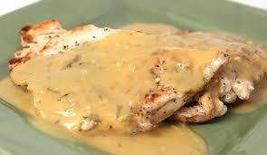 cuisiner des escalopes de poulet escalope de poulet à la moutarde weight watchers plat et recette