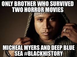 Meme Generator Two Images - meme maker only brother who survived two horror movies micheal